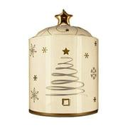 Snowlit Holiday Cookie Jar