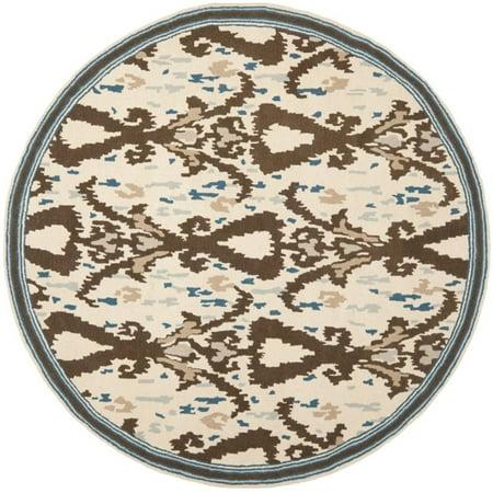 Safavieh Martha Stewart 4' Round Tufted Hand loomed Wool Rug - image 1 of 2