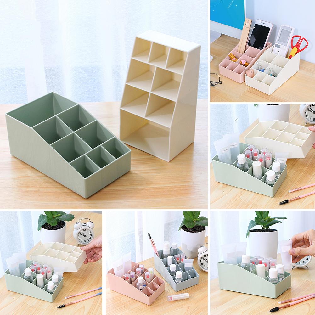 Moderna Makeup Case Storage Container Box Dressing Table Office Home Desktop Organizer