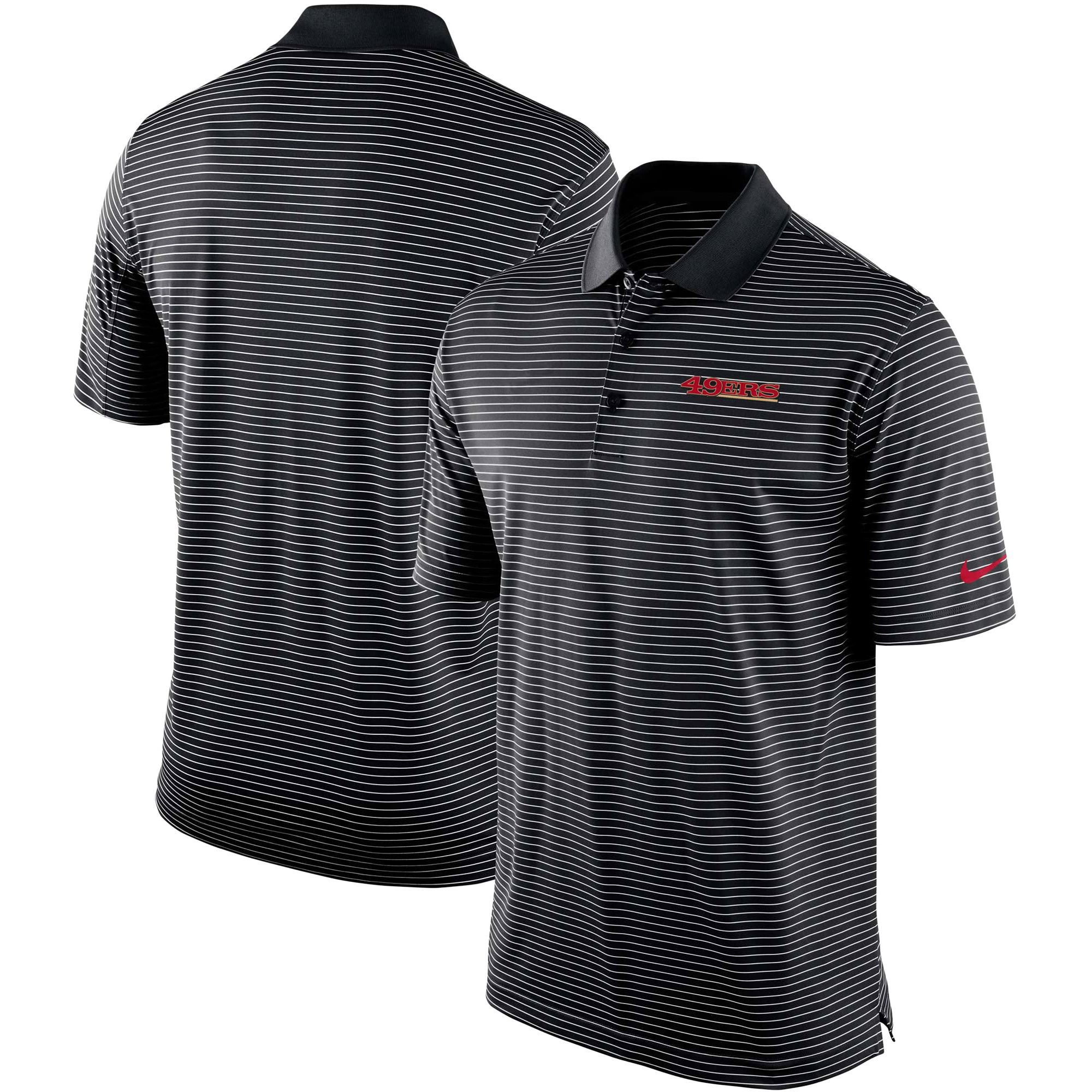 San Francisco 49ers Nike Team Stadium Performance Polo - Black