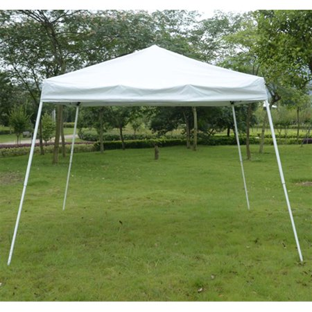 Outsunny 10 X 10 Slant Leg Easy Pop Up Canopy Party Tent