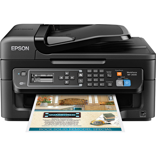 Epson WorkForce All-In-One 2630 Printer/Copier/Scanner/Fax Machine
