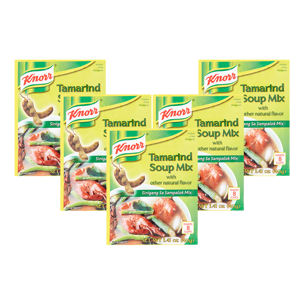 (5 Pack) Knorr Tamarind Soup Base, 1.41 oz