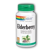 Solaray Elderberry Berries and Flowers 575 mg - 100 Capsules