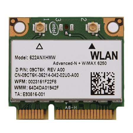 Yosoo WIFI Card for Intel 625o WiMax,WIFI Card,2 4G + 5G