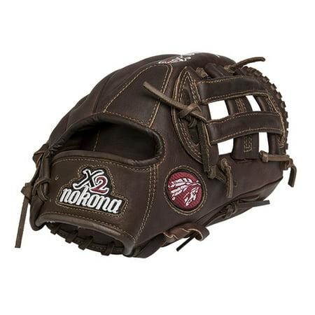 11.75 Infielders Baseball Glove - Nokona X2 Elite Series Baseball Glove 11.75