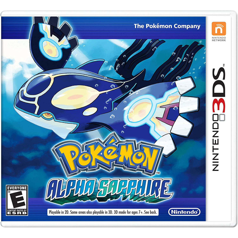 Pokemon Alpha Sapphire, Nintendo, Nintendo 3DS, [Digital Download], 0004549668053