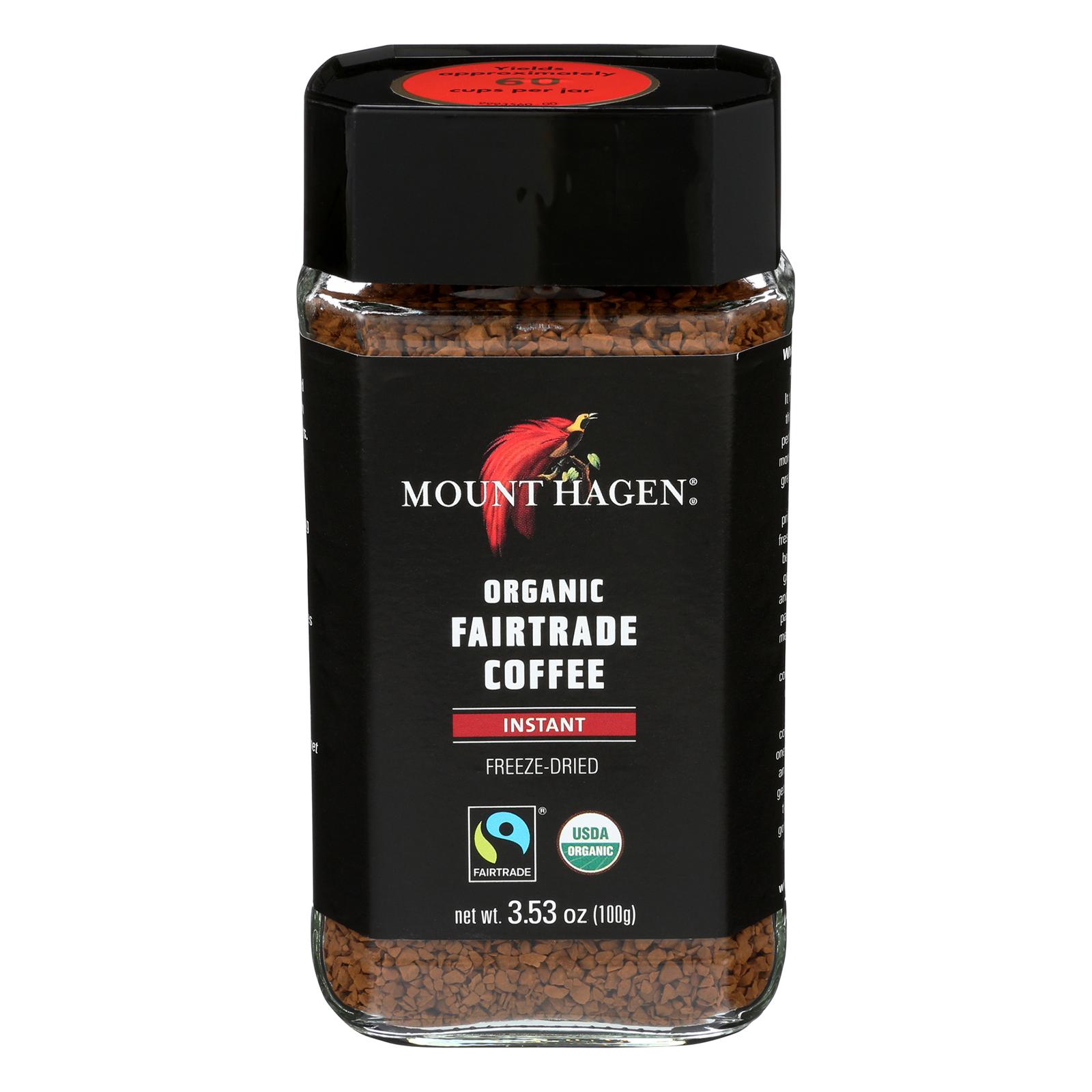 Mount Hagen Organic Instant Coffee - Coffee - Case of 6 -...