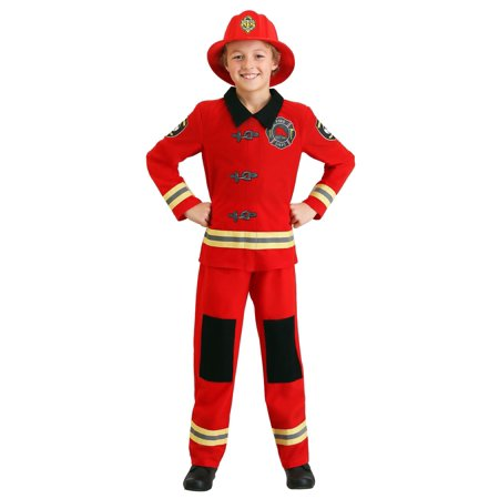 Bike Friendly Halloween Costumes (Kid's Friendly Firefighter)
