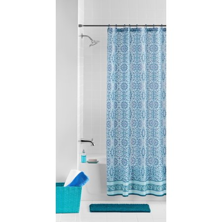 Mainstays Medallion Bath Set With Noodle Rug Amp Shower