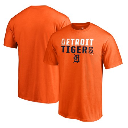 Detroit Tigers Fanatics Branded Team Fade Out T-Shirt - Orange ()