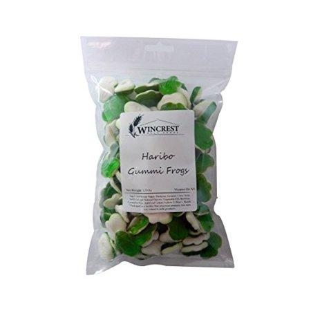Haribo Gummi Frogs - 1.5 Lb (24 Oz) Package (Haribo Mini Frogs)