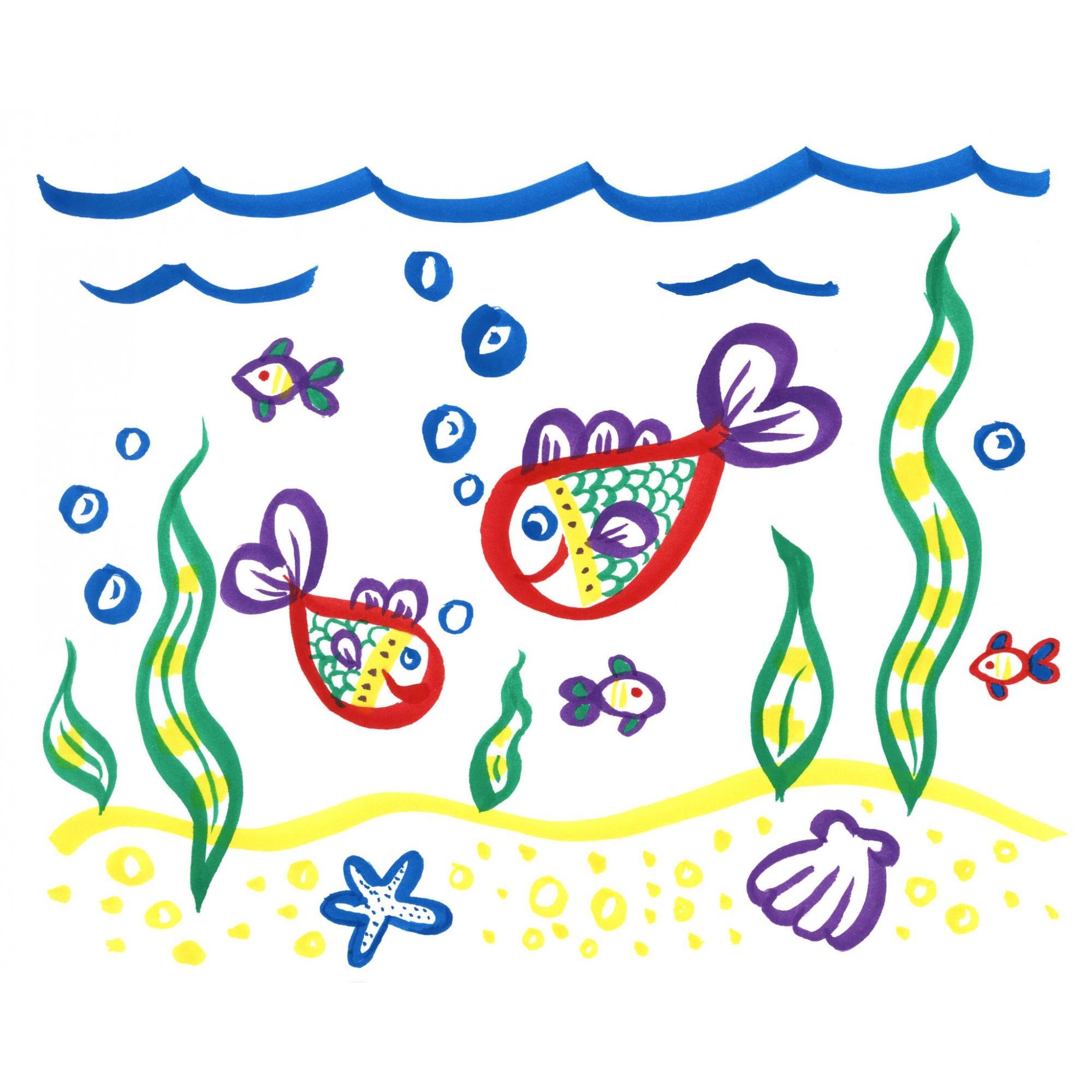 Crayola No Drip Paint Brush Pens Assorted Colors Paint Set 40