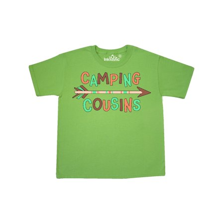 Camping Cousins- arrow Youth T-Shirt