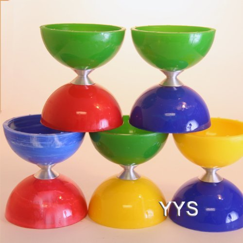 Higgins Brothers Anti Gravity Diabolo - Multicolored (colors vary)