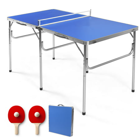 60'' Portable Table Tennis Ping Pong Folding Table w/Accessories Indoor Game - image 10 of 10