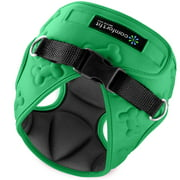 Comfortfit Pets Small Dog Harnesses by Metric USA The Harness pet Vest has padded Interior and Exterior Cushioning ensuring your Dog is Snug and Comfortable Easy to put on and take off pet harness.