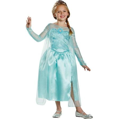 Elsa The Snow Queen (Morris Costumes Girls Frozen Elsa Snow Queen 7-8, Style)