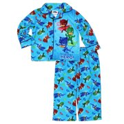 PJ Masks Little Boys Flannel Coat Style Pajamas Set 21PJ000ECL