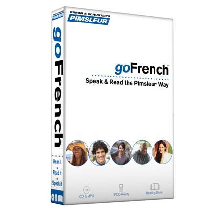 Pimsleur goFrench Course - Level 1 Lessons 1-8 CD : Learn to Speak, Read, and Understand French with Pimsleur Language (Best Way To Learn To Read French)
