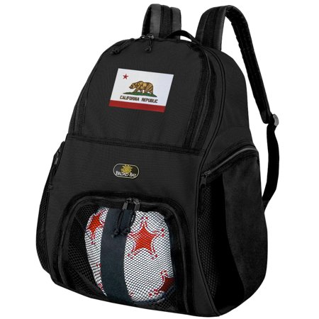 California Soccer Backpack or California Flag Volleyball Bag](Personalized Soccer Bags)