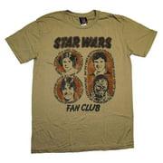 Star Wars Fan Club Princess Leia Junk Food Vintage Style Soft Movie T-Shirt Tee