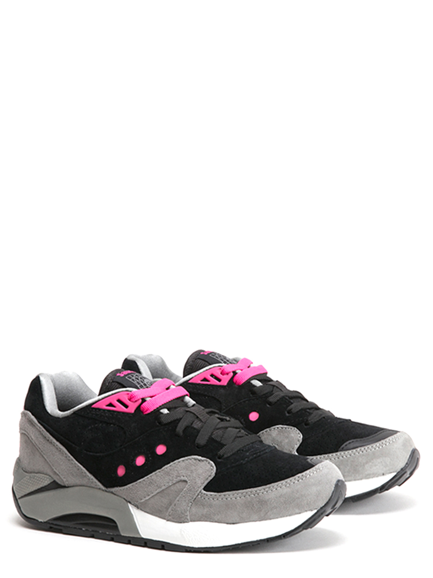Saucony Men's G9 Control Sneakers S70163-4 Black Grey by