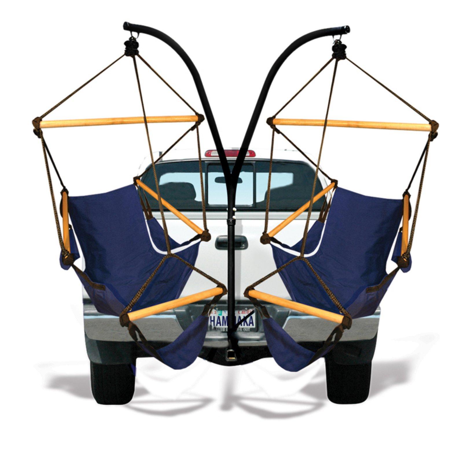 Hammaka Trailer Hitch Hanging Chair Stand with Hammaka Chairs by Hammaka