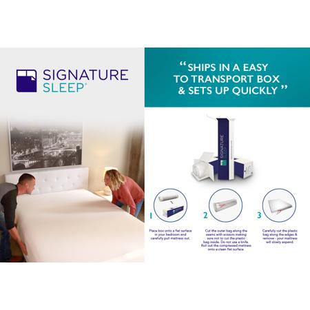 "Signature Sleep Essential 6"" Reversible Coil Mattress"