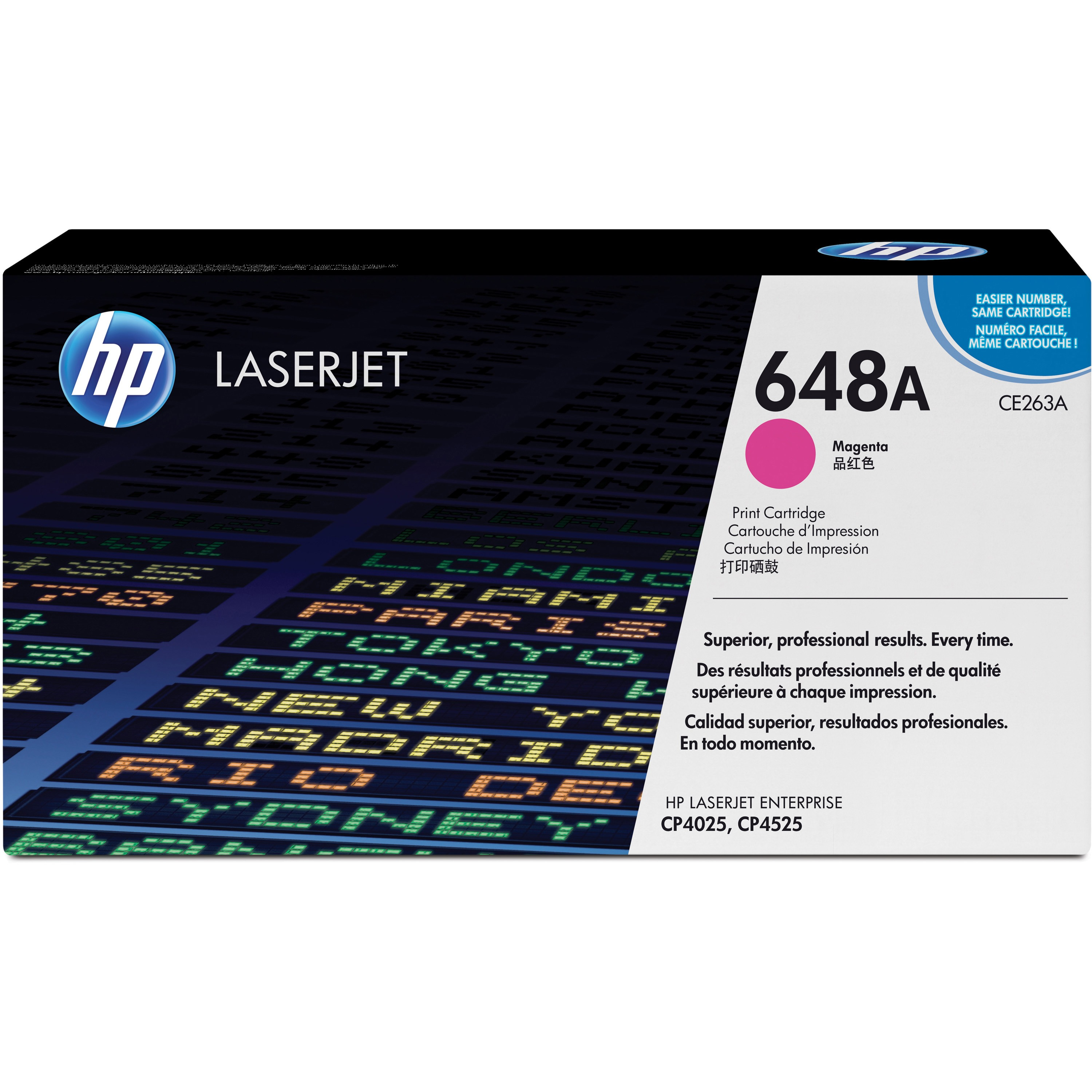 HP 648A (CE263A) Magenta Original LJ Toner Cartridge