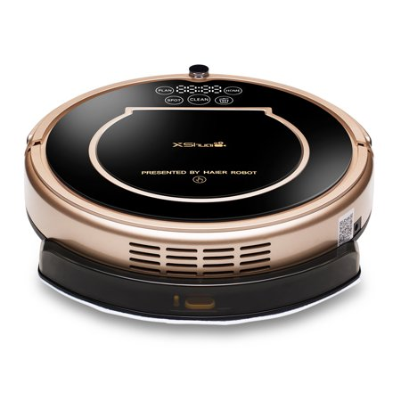 Haier Xshuai Robotic Vacuum Cleaner  Alexa Voice Control Robot Smart Cleaning Mopping Vacuum Microfiber Dust Cleaner Automatic Sweeping Machine
