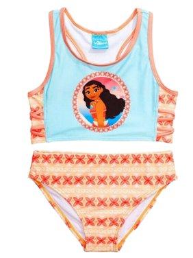 Moana Racerback Bikini Swimsuit (Little Girls)