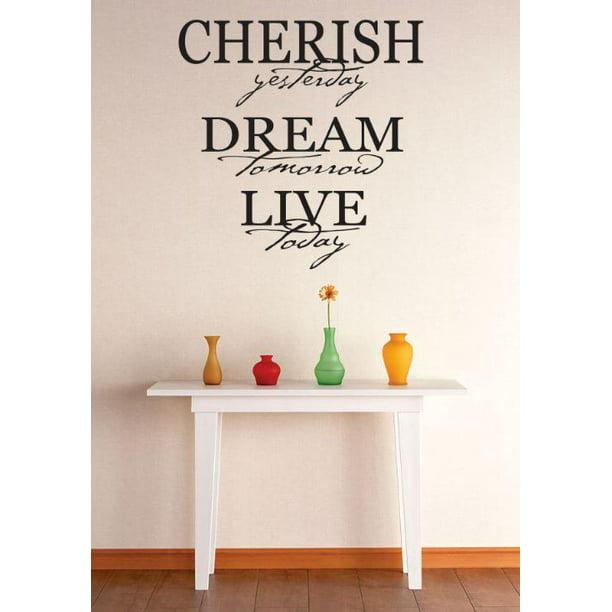 DecaltheWalls Cherish Yesterday, Dream Tomorrow, Live