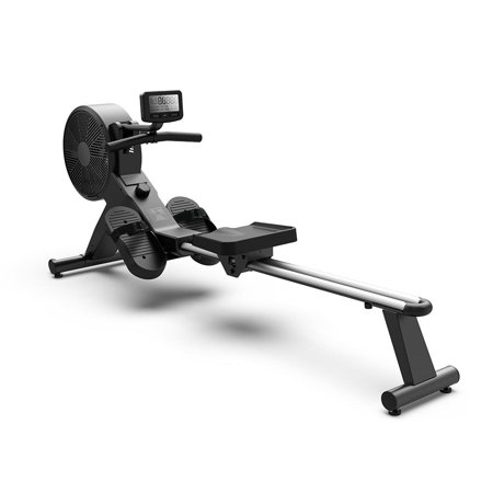 SereneLife SLRWMC50 - Smart Rowing Machine - Sports Training Row Machine with LCD Display Computer Panel, Portable Folding Style