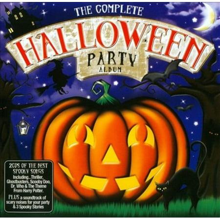 THE COMPLETE HALLOWEEN PARTY ALBUM