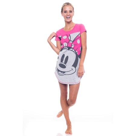 Juniors Minnie Mouse Nightgown Sleepshirt