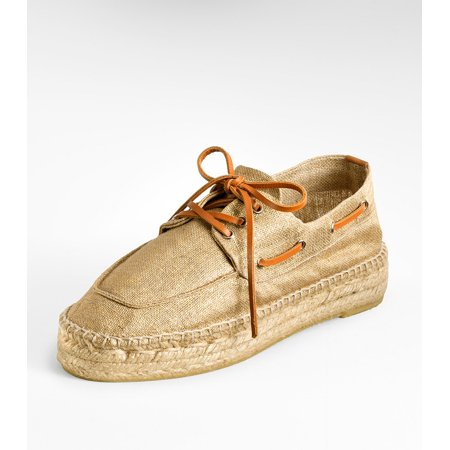 Tory Burch Blanton Espadrille Boat (Tory Burch Rose Gold Flats)