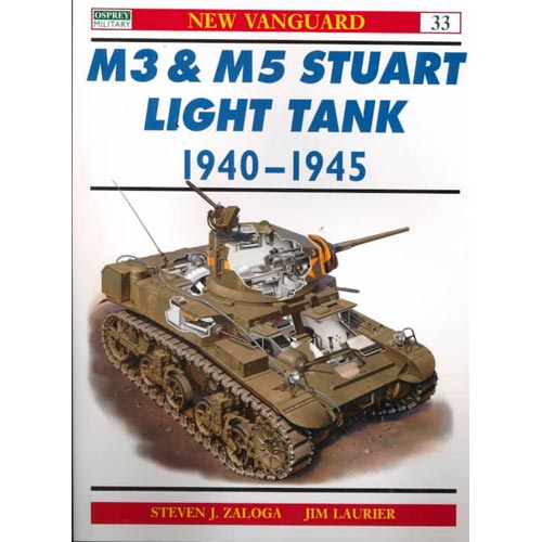 M3 & M5 Stuart Light Tank 1940-1945