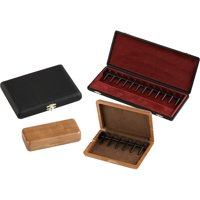J. Winter Double Reed Cases Leather Covered Bassoon - Holds 12