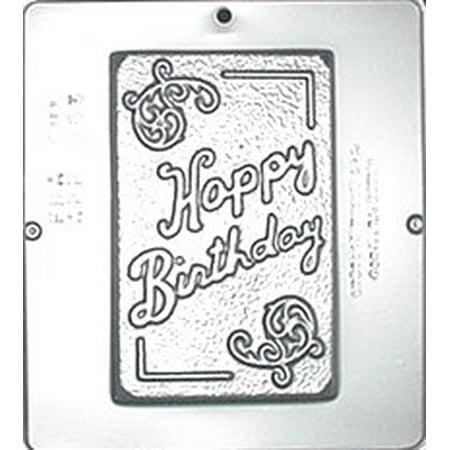 553 Happy Birthday Card Chocolate Candy Mold