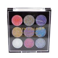 CITY COLOR Cream Glitter Eyeshadow Palette