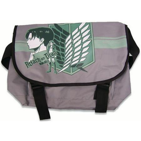 Anime Messenger Bag - Messenger Bag - Attack on Titan - New Levi Anime Toys Licensed ge11622