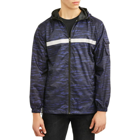 Pnw Men's full zip rain jacket, up to size 3xl