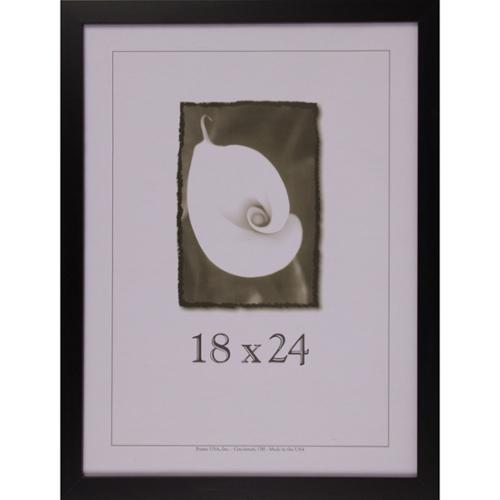 "Affordable Black Frame (18"" x 24"") Black Small, 18x24"