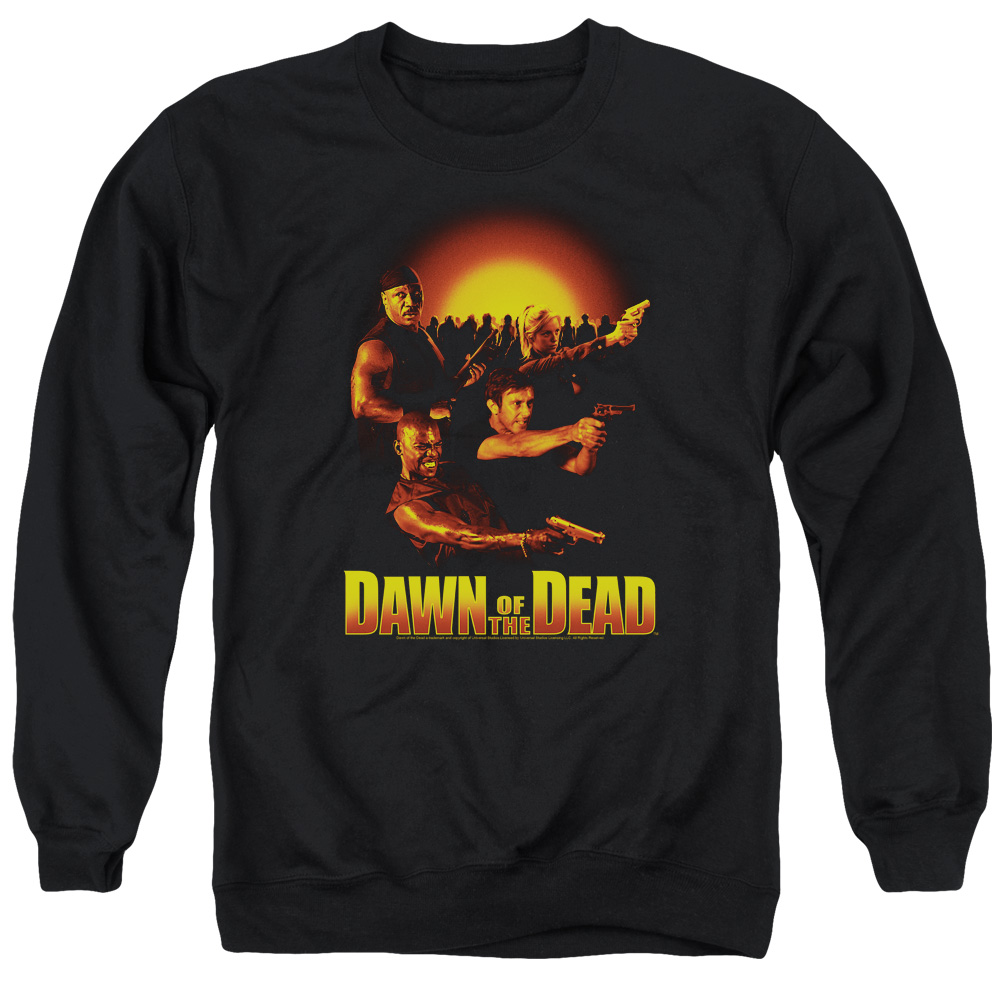 Dawn Of The Dead Dawn Collage Mens Crewneck Sweatshirt