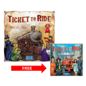 Ticket To Ride Board Game + Ticket To Ride: London