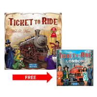 Deals on Ticket to Ride + Ticket to Ride: London Board Game