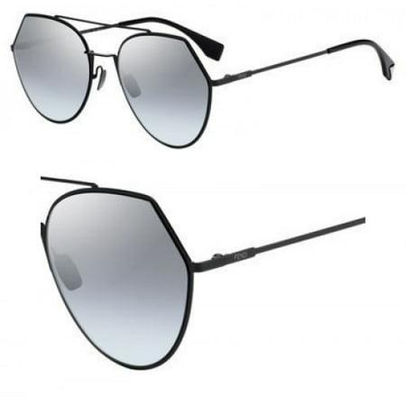Sunglasses Fendi Ff 194 /S 0807 Black / GO gray azure silver lens