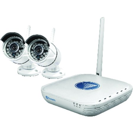 Swann Swnvk 460Kh1 Us 720P Wi Fi Security Kit Micro Monitoring System