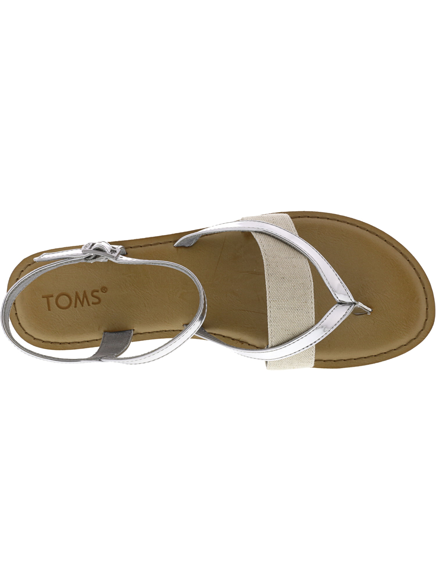 9276a369785887 Toms - Toms Women s Lexie Specchio And Hemp Rose Gold Sandal - 8.5M -  Walmart.com